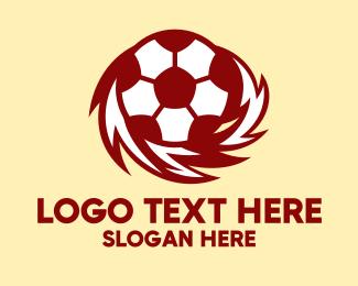 Club - Flame Soccer Club logo design