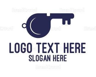 Key - Key Whistle logo design