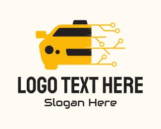 Taxi - Modern Online Taxi logo design