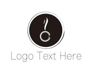 Dark Coffee Logo