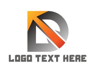 Spear - Letter & Arrow logo design