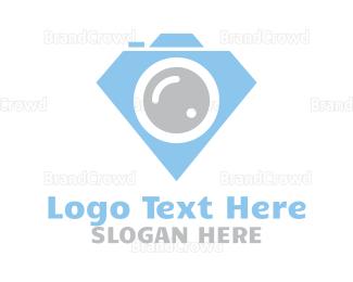 Telescope - Diamond Photography logo design