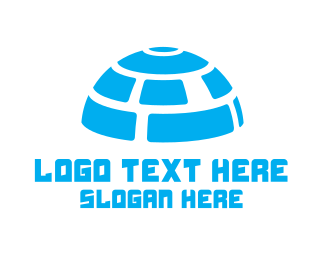 Igloo - Digital Igloo logo design
