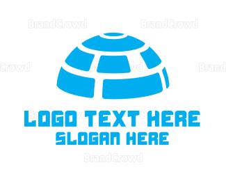 Blocks - Digital Igloo logo design
