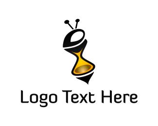 Time - Bee Time logo design