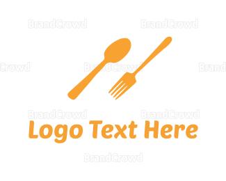 """Orange Cutlery"" by TheMomooh"