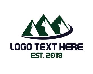 Himalayas - Mount Travel logo design