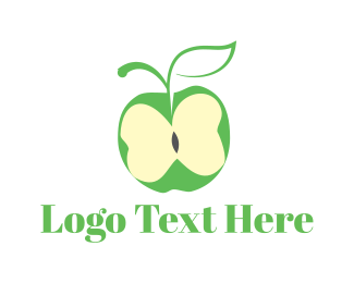 Butterfly Apple Logo