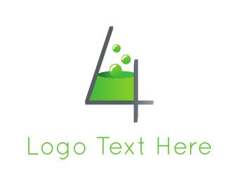 Poison - Chemistry Number 4 logo design
