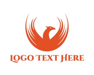 Fictional - Orange Phoenix Gaming logo design