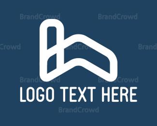Move - House Roof logo design