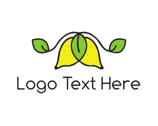 Farmers Market - Fresh Limes logo design