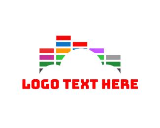 Loud - Cloud Sound logo design