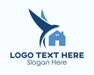 Birdhouse - Bird & House logo design