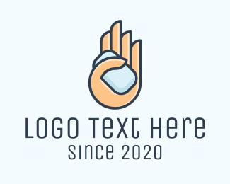 Antiseptic - Hand Washing Soap  logo design