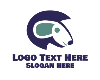 Pet Care - Blue Sheep logo design