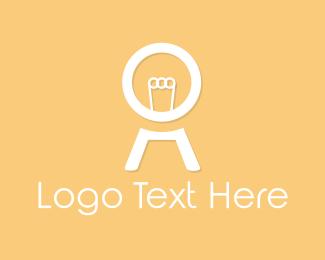 Filament - White Light Bulb logo design