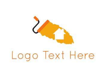Home & Paint Logo