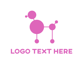 Lab Poodle Logo