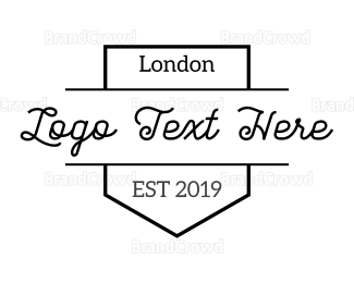 England - London Brand logo design