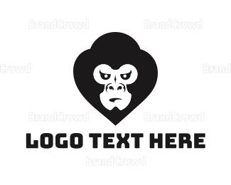 No - Mad Gorilla logo design