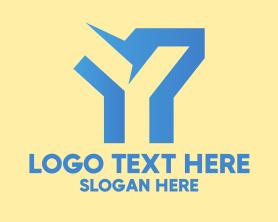 Generic Business Letter Y  Logo