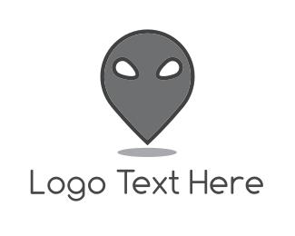 Alien - Alien Spot logo design