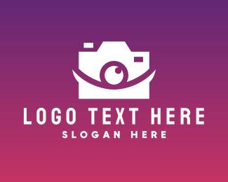 Stylish Optical Camera logo design