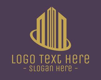 Corporate Real Estate Building logo design