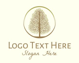 Lanscaping - Autumn Tree logo design