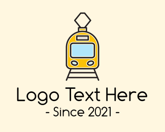 Toy Train - Electric Bullet Train logo design