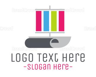 Designer - Print Ship logo design