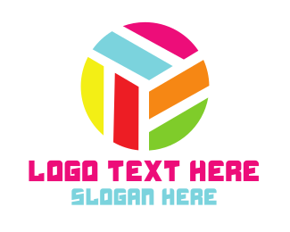 Custom - Modern Rainbow Circle logo design
