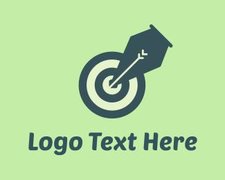 Spot - Pen Target logo design