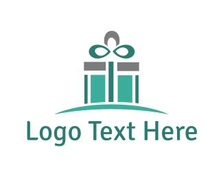 Gift Box - Mint Gift logo design