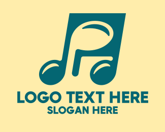 Unique - Unique Musical Note logo design
