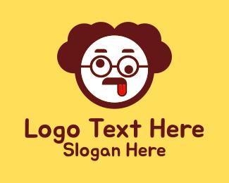 Dad - Funny Man Mascot  logo design