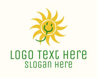 Power - Solar Electrical Power logo design