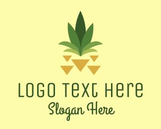 Pineapple - Abstract Pineapple logo design