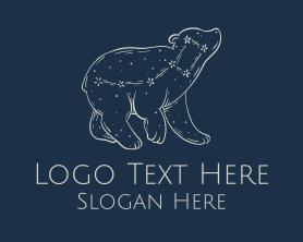 Little - Little Dipper Dreamy Constellation logo design