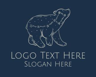 Constellation - Little Dipper Dreamy Constellation logo design