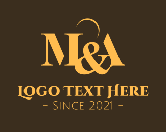 Ma - Classy M & A Monogram logo design