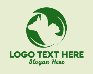 Veterinarian - Organic Pet Veterinarian  logo design