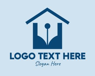 Publisher - Writer House Publishing  logo design