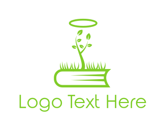 Botanical - Holy Book logo design