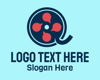 Review - Movie Review logo design