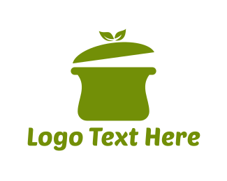 Biryani - Green Pot logo design