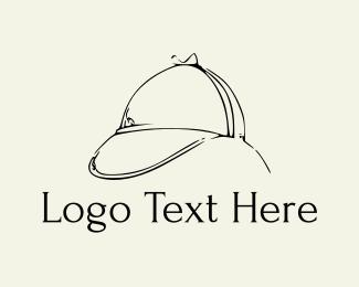 Baseball Hat - Detective Hat logo design