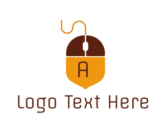 Acorn - Acorn Mouse  logo design