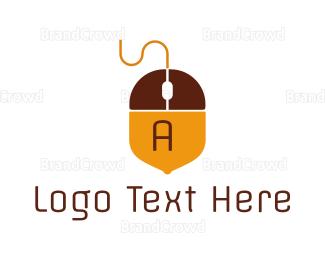Mouse - Acorn Mouse  logo design